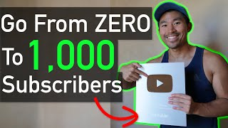 How to Get 1,000 YouTube Subscribers & Grow Your Channel FAST! (2019)