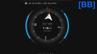 GPS Compass App For A Bike Commute Tip Of The Night screenshot 2