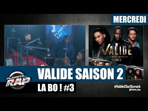Youtube: Planète Rap –«Validé» Saison 2 avec Sam's, Da Uzi, Mélina, Rimkus, Ivar, Koroba et Fred! #Mercredi