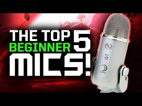 Top 5 BEST Microphones For Beginner YouTube/Gaming Recording! 2017 Tips