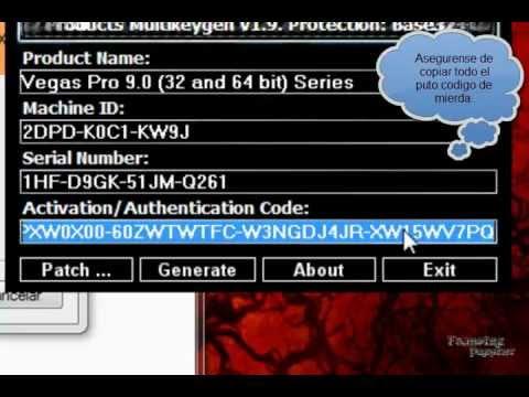 Sony vegas pro 13 [crack + serial number + patch + keygen] youtube.