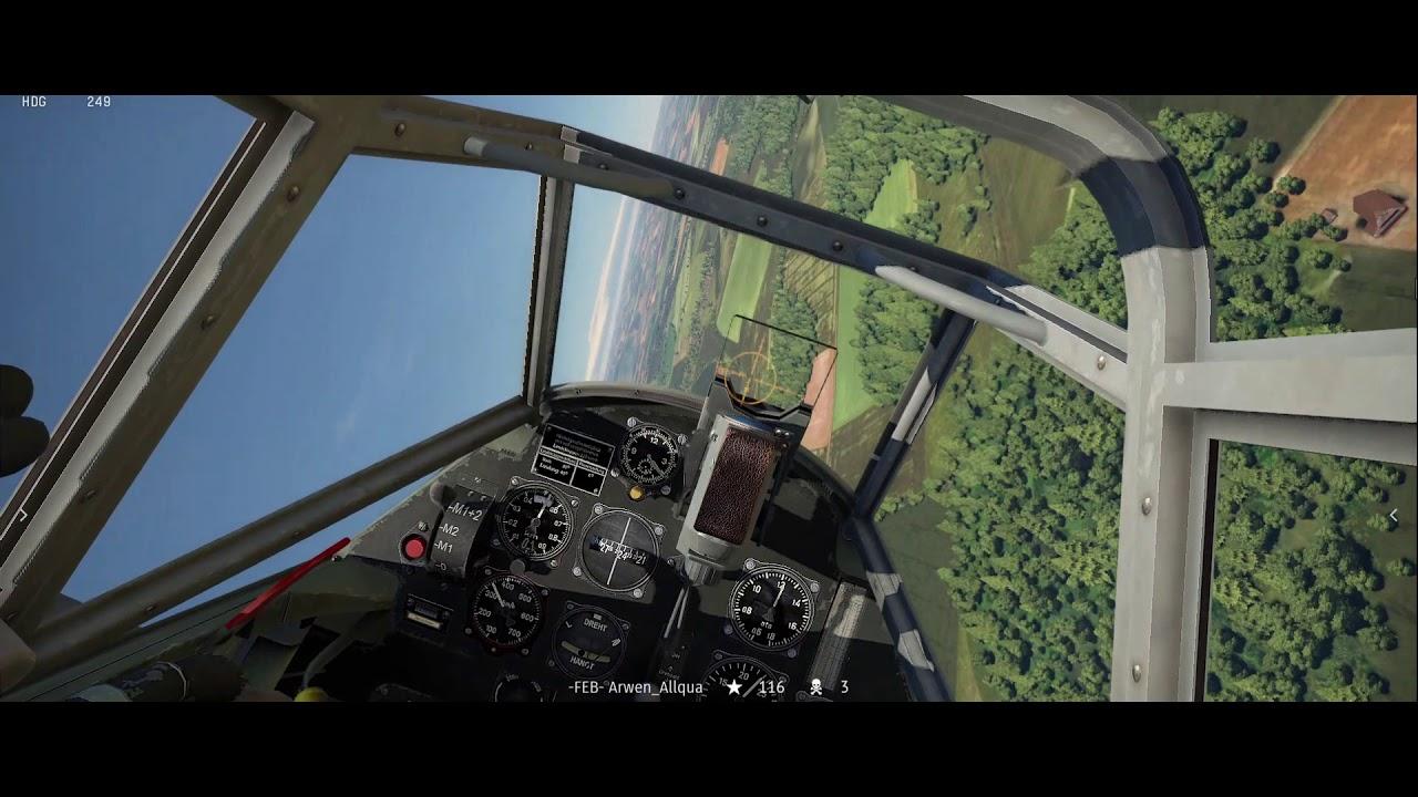 War Thunder Simulator Battle mode - YouTube