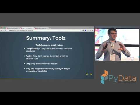 Peader Coyle - The PyData map: Presenting a map of the landscape of PyData tools