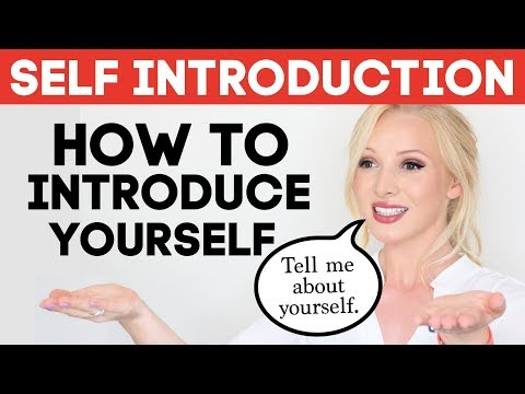 SELF INTRODUCTION | How To Introduce Yourself In English | Tell Me About Yourself Interview Answer
