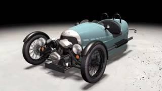 Morgan 3 Wheeler trailer (Motorsport)