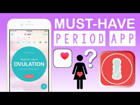 MUST HAVE Menstrual Apps 2020! Cycle Tracking (Health App Vs FLO) Review