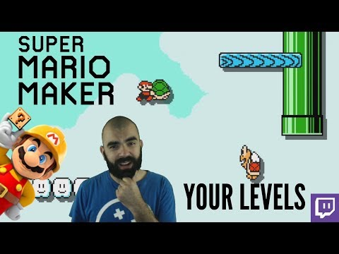 THE DUDE IS BACK | Mario Maker | Twitch Subscriber Levels [I]