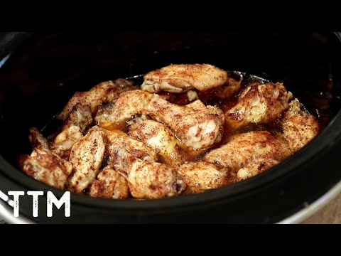 How To Make Crock Pot BBQ Chicken Wings