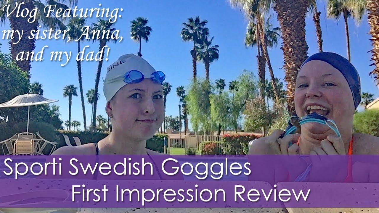 0a46b5f1c0b Sporti Swedish Goggles First Impression + Vlog Featuring Anna and my Dad!   3  Spring Break!