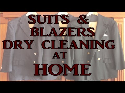 Suits & Blazers Dry Cleaning At Home.