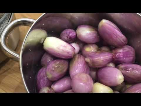 Spiced Pickled Onions