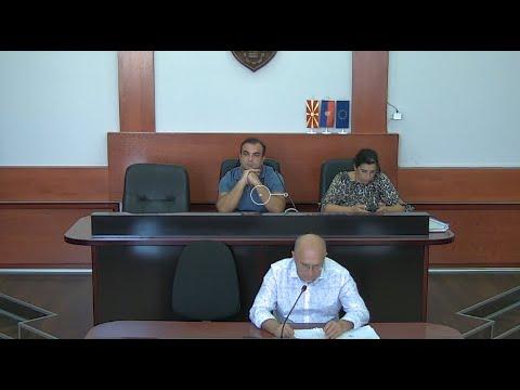 2-ра вонредна седница на Совет на Општина Велес