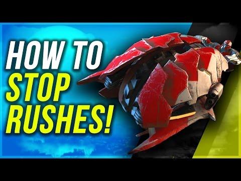 HALO WARS 2 Anti Rush Build Order Tutorial - How To Stop Chopper Rush