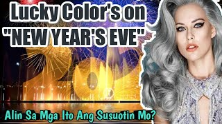 video start # 2.06 mins #LuckyColorsOnNewYear'sEve #FengshuiColors2020 #KahuluganNgBawatColors.