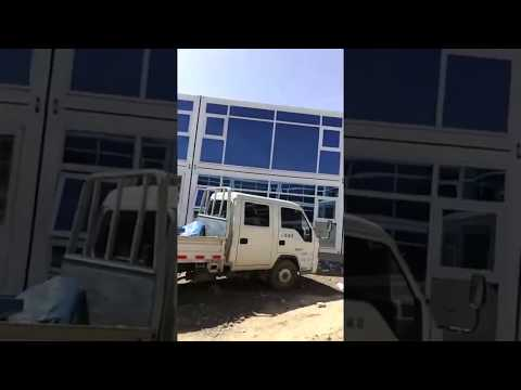 flat pack living 2-story luxury prefabricated container house prices