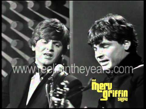 """The Everly Brothers- """"Bye Bye Love"""" + interview (Merv Griffin Show 1966)"""