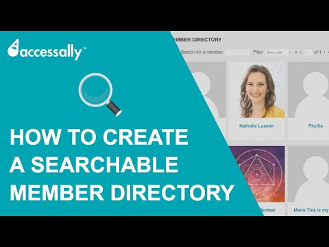 How to Create A Searchable Member Directory on Wordpress