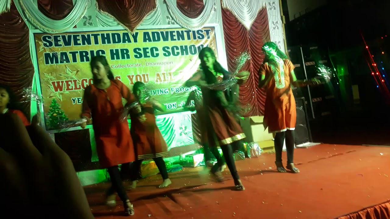 Do 7th Day Adventists Celebrate Christmas.Seventh Day Adventist Matriculation School Dharmapuri Christmas Celebration 2018