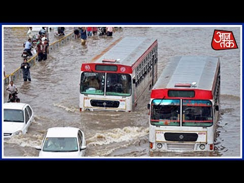 Heavy Rainfall Continues To Affect Normal Life In Gujarat, Rajasthan