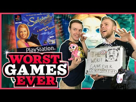 Worst Games Ever - Sabrina The Teenage Witch: A Twitch In Time