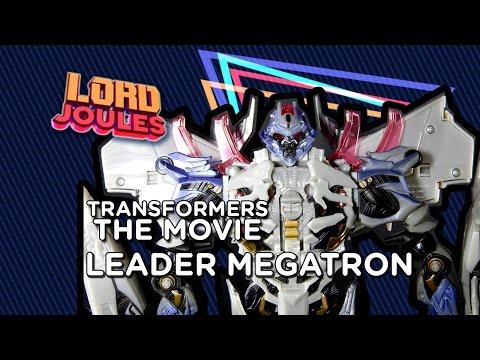 Transformers The MOVIE Leader Megatron en español