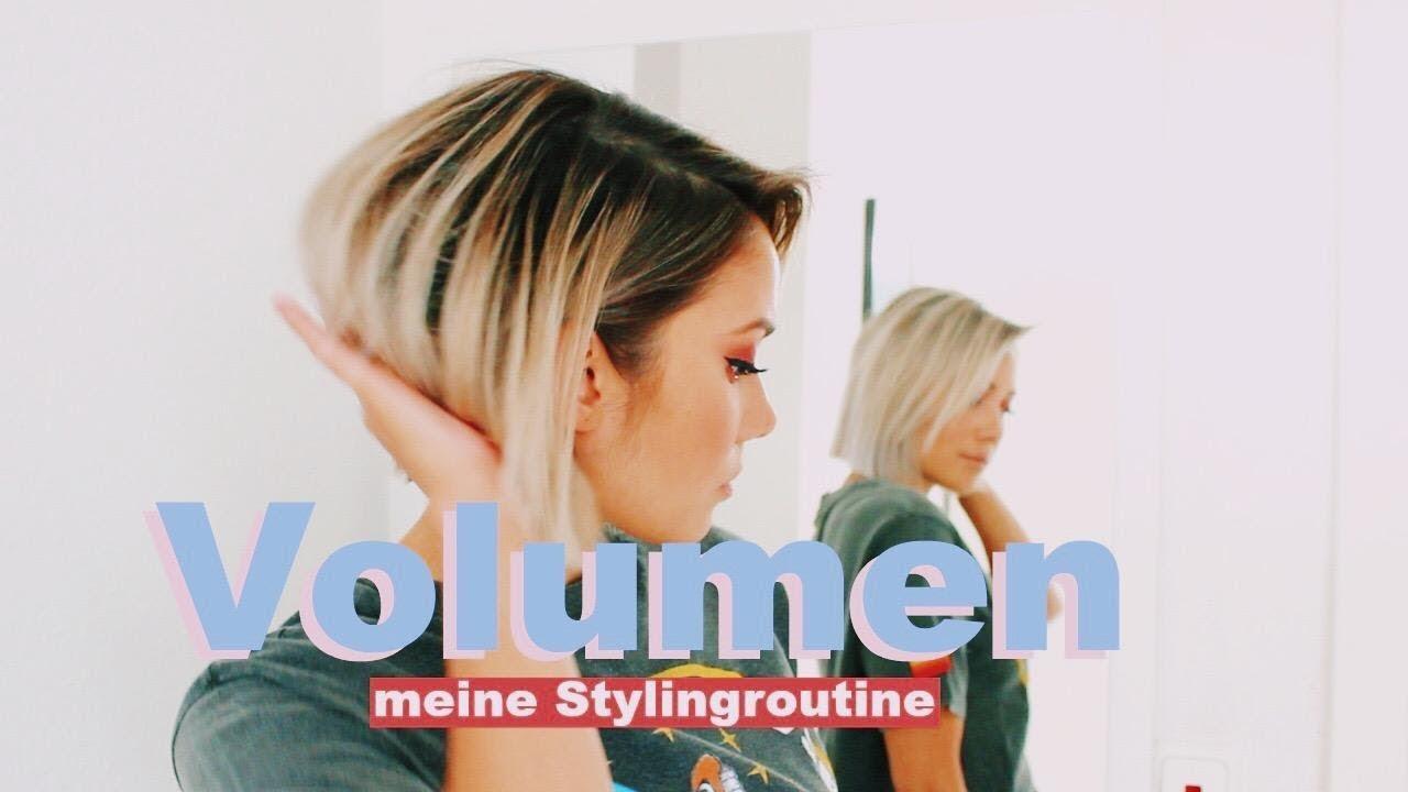 Wie Bekomme Ich Mehr Volumen In Meine Haare Meine Styling Tipps Für