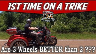 Differences Between a 2 Wheel Motorcycle & A Trike