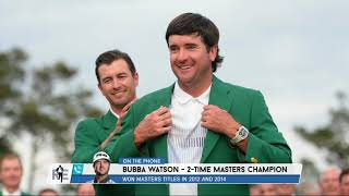 Bubba Watson talks Major Schedule, NFL, Masters, and More w/ Rich Eisen | Full Interview | 6/19/19