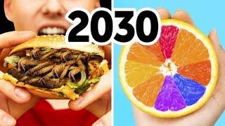 2030年の食糧事情:ミミズに人口肉に溶けないアイスクリーム