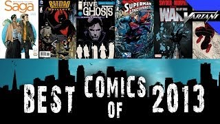 The Best Comic Books Of 2013!