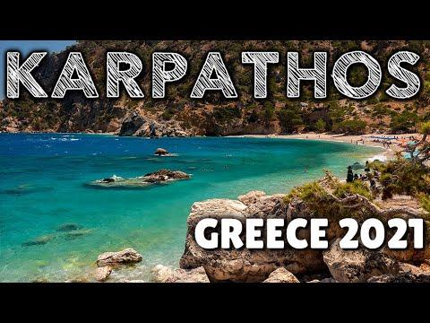 KARPATHOS Greece 2021 | Olympos, Pigadia, Diafani, Diakoftis and more