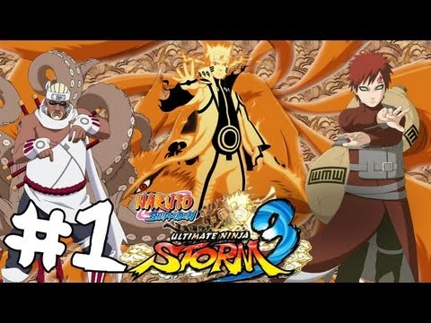 Naruto Shippuden Ultimate Ninja Storm 3 - Playthrough #1 [FR][HD]
