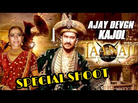 Taanaji The Unsung Warrior : Special Song Shoot For Ajay Devgn, Kajol and saif Ali Khan