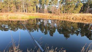 Путешествие за Щукой Новые места на двух реках Рыбалка на спиннинг в ноябре
