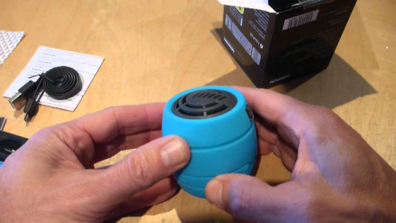 aldi medion splashproof bluetooth speaker review e69349. Black Bedroom Furniture Sets. Home Design Ideas