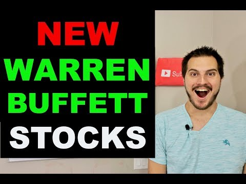 5 STOCKS WARREN BUFFETT BUYS NOW!