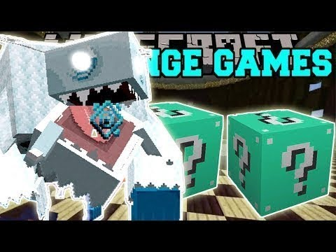 PopularMMOs Pat and Jen Minecraft: DE GELO CHALLENGE GAMES - Lucky Block Mod - Modded Mini-Game