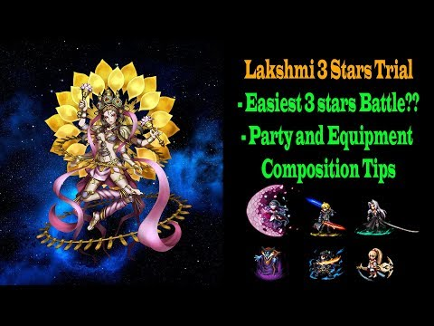FF BE 3 Stars Lakshmi Trial Tips and Guide (#469)