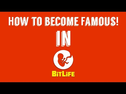 How to become Famous in BitLife! - YouTube