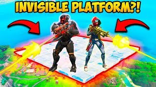 *INSANE* INVISIBLE PLATFORM SPOT!! - Fortnite Funny Fails and WTF Moments! #681