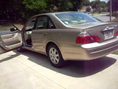 2003 toyota avalon xl minty just serviced youtube. Black Bedroom Furniture Sets. Home Design Ideas