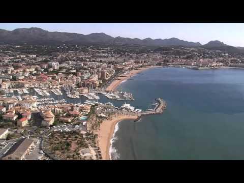 Estérel Côte d'Azur vu du ciel