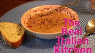How To Make Lentil Soup Tuscan Style - Real Italian Kitchen