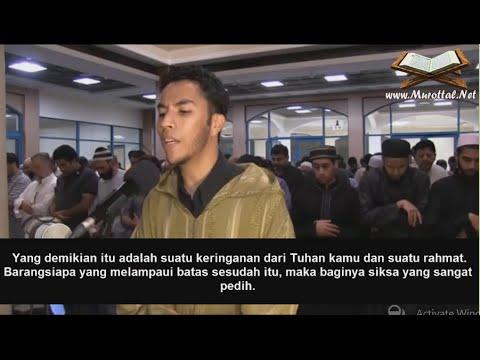 Youssef Edghouch Surah Al-Baqarah(178-186) Dengan Terjemahan Bahasa Indonesia