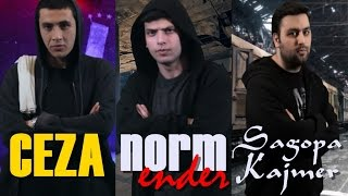 Ceza Vs Norm Ender Vs Sagopa Kajmer | Destansı Rap Savaşları | DRS