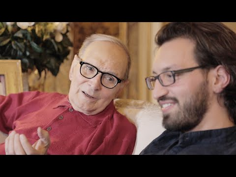 Ennio Morricone and Alessandro De Rosa talk about the book Chasing that sound