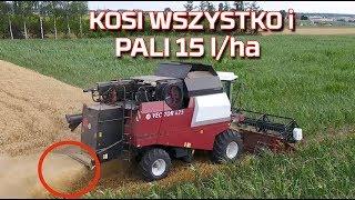 🔴 Kombajn który pali 15 L/ha w żniwa [opinia o nowy nabytek] Rostselmash Vector