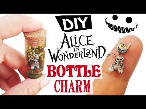 DIY MINIATURE ALICE IN WONDERLAND CHESHIRE CAT polymer clay tutorial | dollhouse miniature
