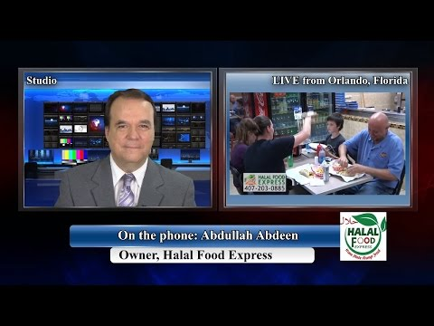 Abdullah Abdeen TV Interview, Halal Food Express in Florida