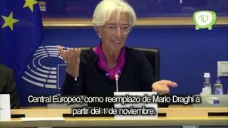 """Christine Lagarde nueva jefa del Banco Central Europeo"""